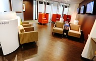 Comfortable Business Lounge