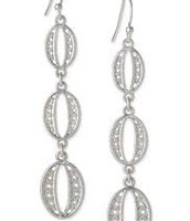Kimberly Earrings- Silver