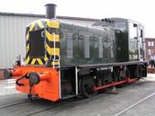Antique Diesel Train