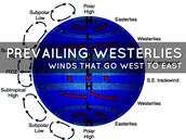 Prevailing Westerlies Image