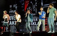 One Direction Preforming 'Back For You'
