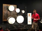 The drum's