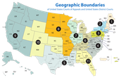 District Court and Court of Appeals Map