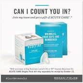 Join my team as a consultant and get a whole FREE EXTRA BOX OF ACUTE CARE!!