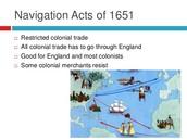Navigation Act map