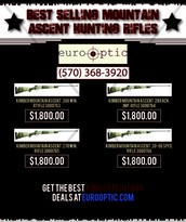 Best Selling Mountain Ascent Hunting Rifles