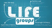 Life Groups, Sundays @ 9:15am & 10:45am