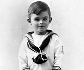 alan turing as a kid