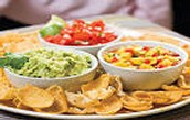 Bring your favorite chips and dip (or veggies)