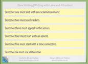 Slow Writing!
