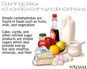 What does simple carbohydrates do and how does it function in the body?