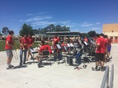Good times with Jazz Band