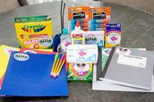 Back-To-School Supplies List
