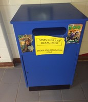 Our exclusive book drop is a total time saver!