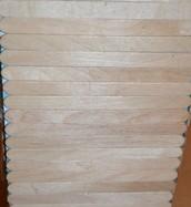 Pine Wood Exterior Walls