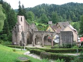 Ruins in the Black Forest
