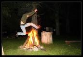 Bonfire Jumping