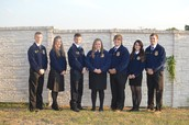 Chapter FFA Officers attend District VI FFA Meeting
