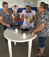 Actividad Adulto Mayor 2015, con una gran representante de nuestro pueblo Margoth