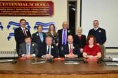 Centennial School District School Board Reorganization