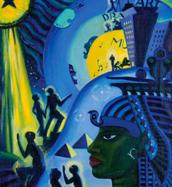 Ascent of Ethiopia- Lois Mailou Jones