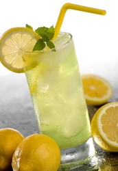 Our Shop Sells Ice Cold Lemonade To Quench Your Thirst!