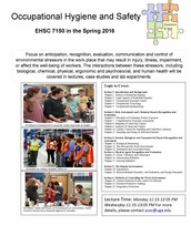 EHSC 7150 Occupational Hygiene and Safety