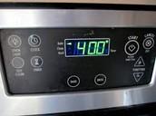 Set the oven to 400 degrees fahrenheit.