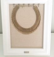 Tansy Fringe Collar - $70