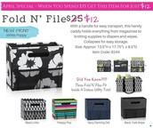 Fold N' Files - $12