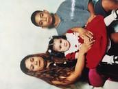 my bro and my mom and sis