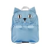 Mochila de un gato azul