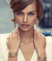 Grace Cuff and Earrings