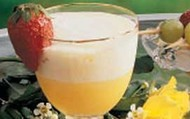 Pineapple-oarnge drink