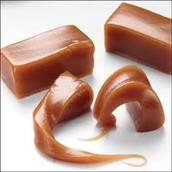 Caramel swirls