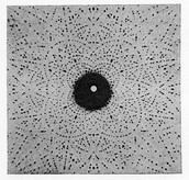 Crystal Diffraction Dot Pattern