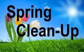 Student Council Spring Clean Up!