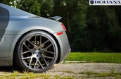 Our special edition set of Rohana wheels