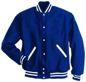 azul la chaqueta $135