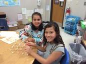We explored the Giza Pyramids!
