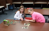 Working on Puzzles!