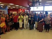 Teacher's Target Shopping Event