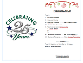 Program & Invitation (Programme)