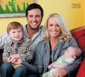 Luke & family.