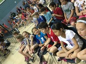 Students Waiting for the Assembly to Begin