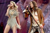 Steven Tyler and Taylor in Nashville