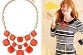 Olivia Bib Necklace - Vintage S&D