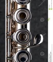 Close up flute