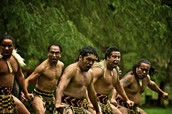 Native dance from New Zealand/
