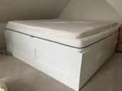 Ikea Brimnes Queen Bed £50